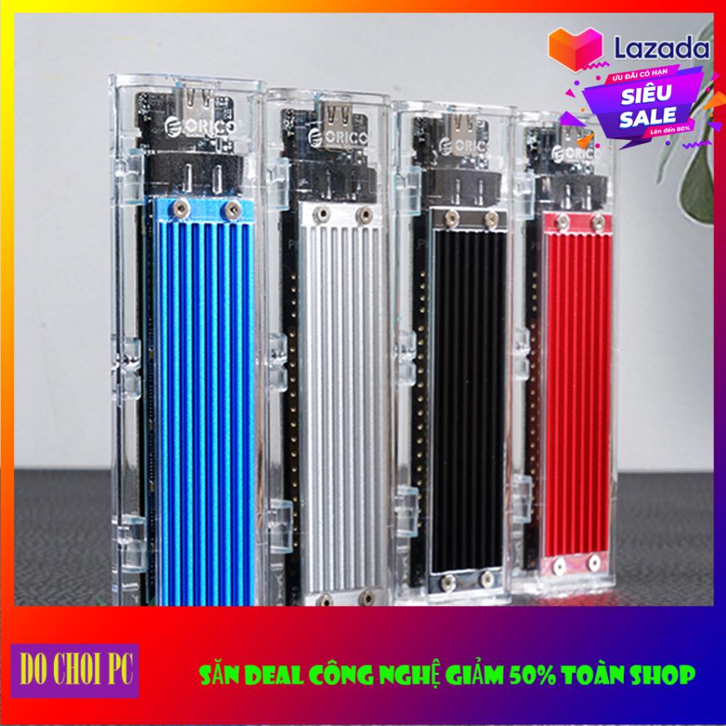 Hộp đựng ổ cứng SSD M.2 NVMe Box SSD NVMe To USB typeC to USB Orico TCM2-C3