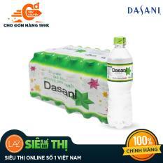 [Siêu thị Lazada] – Thùng 24 Chai nước tinh khiết Dasani 500ml