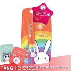 Son Dưỡng Có Màu Lipice Sheer Color Q Bestie Thỏ Bảy Màu (Màu Hồng Cam) 2.4G