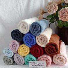 Khăn Cỡ trung hàng xuất khẩu B, 40×70 (110gr) nhiều màu sang trọng, Khăn chất liệu 100% cotton, khăn mềm mịn, thấm hút tốt Khăn xuất khẩu màu sắc đa dạng,Không xù lông, không ra màu.