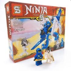 Đồ chơi xếp hình lắp ráp Ninja siêu cấp ( 80 – 120 chi tiết) cho bé thoả sức sáng tạo ( Giao mẫu ngẫu nhiên )