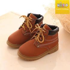 HOT Giày boot cho bé 1-7 tuổi giày boot sành điệu cho bé