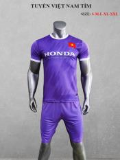 [HCM]Quần áo bóng đá Đội Tuyển Việt Nam màu Tím mùa giải 21-22