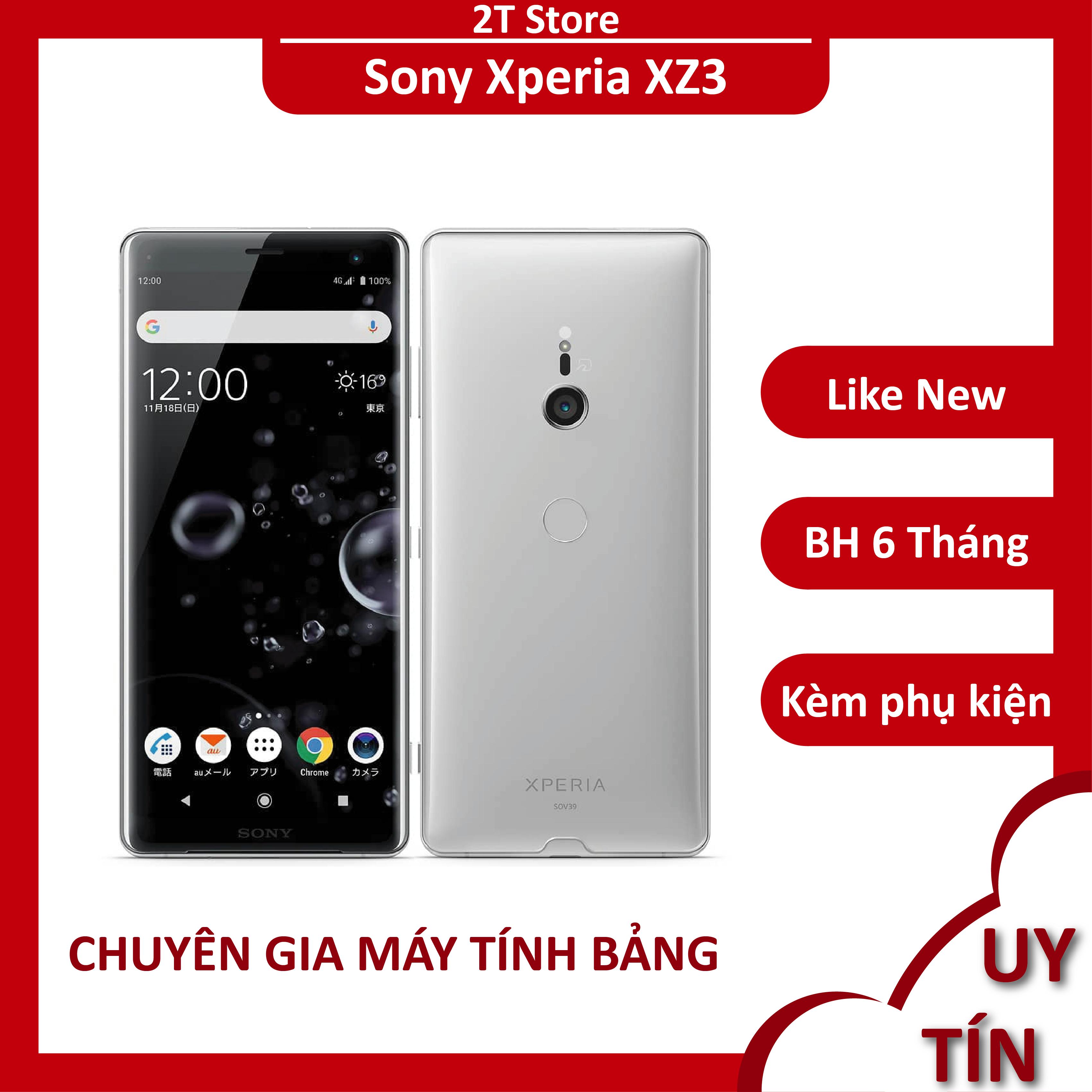 Điện thoại Sony Xperia XZ3 màn 2K cong 2.5D Snap 845