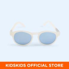 Kính chống tia cực tím có tròng kính phân cực trẻ em Babiators – The Jet Setter, tráng gương xanh nhạt, 6-10 tuổi
