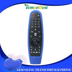 Lemonbest™ Bán hàng trực tiếp tại nhà máy Shockproof Soft Silicone Remote Control Controller Dustproof Protective Cover Case for 3D Smart TV AN-MR600 Black