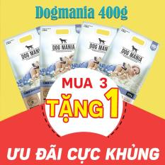 Combo mua 3 tặng 1 gói Thức ăn hạt cho chó Dog mania 400g