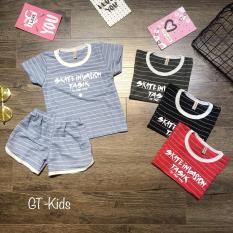 Bộ quần áo bé trai mùa hè cotton 4 chiều, bộ hè cho bé trai, bộ quần áo bé trai, quần áo trẻ em năng động