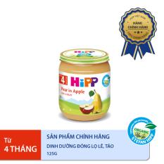 [FREESHIP][BEST SELLER] Dinh dưỡng đóng lọ Lê, táo hữu cơ 125 g
