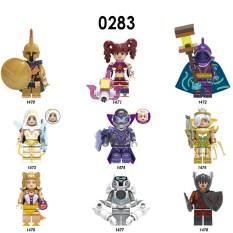 Minifigures Các Mẫu Tướng Trong Liên Minh Huyền Thoại X0283 Pantheon Riven Leona Ashe