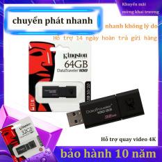 USB 3.0 Kingston DataTraveler 100 – 64GB-Bảo Hành 10 Năm-Hàng Chính Hãng