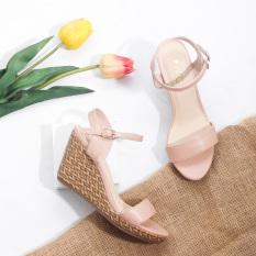 Giày Đế Xuồng 7cm Quai Mảnh Hở Gót Pixie X451