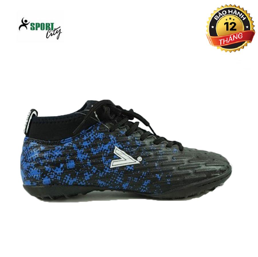 Giày đá bóng, giày đá banh, giày bóng đá, giày thể thao MITRE 170501 màu xanh phối đen đẳng cấp sân cỏ, chắc chắn và ôm chân, giảm tối đa chấn thương dành cho nam