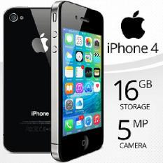 Điện thoại xịn cảm ứng IPHONE4 – 32GB – Bảo hành 12T – Giá rẻ
