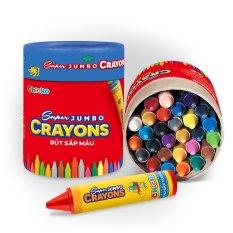 Bút Sáp 18 Màu Supper Jumbo Crayons