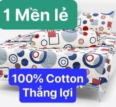 Bộ Drap Cotton Thắng Lợi Kèm Mền Chần Gòn {5 MÓN } hoặc mền lẻ chuẩn logo trên vải/