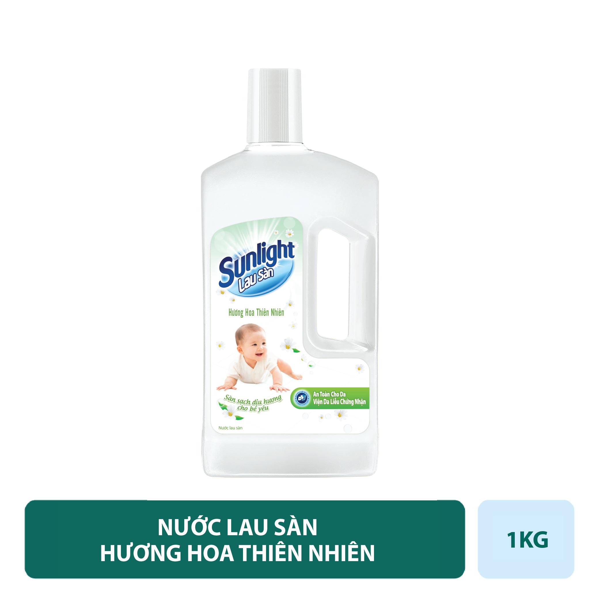 Nước Lau Sàn Sunlight Hương Hoa Thiên Nhiên 1kg