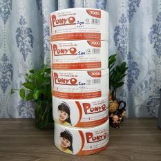 Combo 5 cuộn giấy vệ sinh lớn 700g PONYO – LỤA
