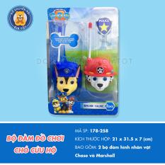 Bộ đồ chơi bộ đàm các nhân vật hoạt hình đáng yêu dùng pin dành cho bé trên 1 tuổi – thitrandochoi