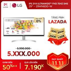 [TRẢ GÓP 0%] Màn hình máy tính LG IPS 21:9 HDR UltraWide™ (2560×1080) 75Hz 5ms 29 inches l 29WN600-W | HÀNG CHÍNH HÃNG