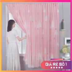 [HÀNG ĐẸP-ĐƯỢC CHỌN SIZE] Rèm cửa dán tường 2 lớp siêu tiện dụng dễ dàng tháo lắp vệ sinh-Rèm trang trí nhà cửa, phòng ngủ-Rèm chống nắng