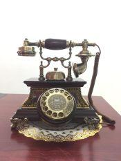 ĐIỆN THOẠI TÂN CỔ ĐIỂN DT14 bàn phím quay chuông quả, dùng di động nghe gọi âm thanh rõ ràng (điện thoại bàn tân cổ điển)