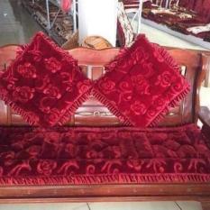 Bộ 3 Tấm Nệm lót ghế – Dạng Thảm Nhung 3D có viền
