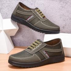 Giày lười nam- giày mọi nam thể thao Minh Hà Shoes SP – 112 ( xám)