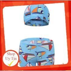 [Lấy mã giảm thêm 30%]✅ Quần bơi kèm mũ dành cho bé trai