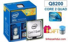 Bộ vi xử lý Intel CPU Core 2 Quad Q8200 4 lõi, 4 Luồng tặng KEO tản nhiệt