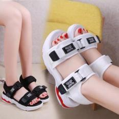 Sandal bánh mỳ đế đỏ êm chân