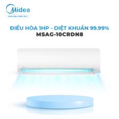 [ Voucher Lucky 2 Triệu – SL có hạn ] Máy Lạnh Midea Inverter 1HP MSAG-10CRDN8 2020 – Tiết kiệm 70% Điện, Lọc Khuẩn Tới 99.9% – Hàng Phân Phối Chính Hãng Bảo Hành 3 Năm