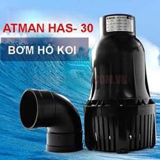 Máy bơm hồ cá KOI ATMAN HAS-30 220W 30.000LH loại lớn, tiết kiệm điện . Bh uy tín – atmanhas30