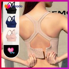 Áo bra tập GYM đan lưng móc cài sau – Áo bra chạy bộ