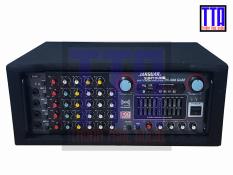Amply Bluetooth 16 sò Karaoke 2 quạt 4 lỗ Mic PA-666 Gold
