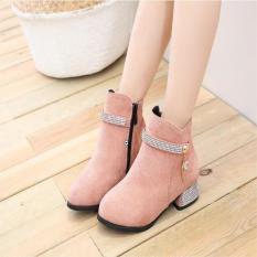 Giày bốt ( cao cấp ) cho bé gái đẹp phong cách hàn quốc EB002H