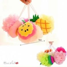 Bông tắm hình trái cây siêu dễ thương