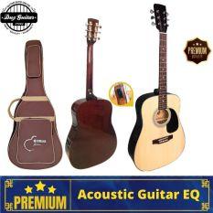Đàn guitar Acoustic DD120X có EQ – đàn ghi-ta đệm hát ghita dáng Dreadnought âm sắc rõ ràng có độ bền cao dễ dàng sử dụng