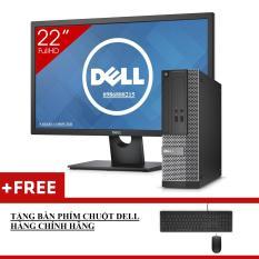Máy Tính Để Bàn Dell Optiplex 3020 SFF + Màn Hình Dell 22inch Full-HD (Core I3 4130, Ram 8GB, HDD 1TB) + Quà Tặng – Hàng Nhập Khẩu