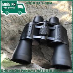 Ong Nhom Sieu Net – Ống Nhòm Panda 2 Mắt Siêu Zoom, Phóng Đại 20 Lần, Xa 1,5 Km, Công Nghệ Lấy Nét Tập Trung – Bảo Hành 1 Đổi 1.