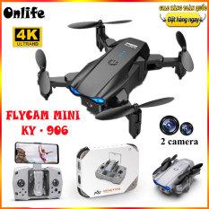 Play cam 4k drone mini ky- 906, ply cam drone camera 4k, flycam có camera 4k, flay cam, play cam giá rẻ,máy bay camera điều khiển, Máy bay lai camera