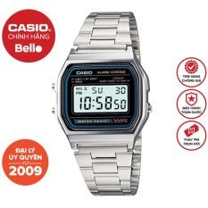 Đồng hồ Casio Nam A158WA-1 bảo hành chính hãng 1 năm – Pin trọn đời