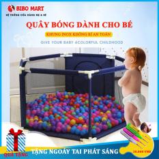 Lều bóng, Cũi bóng, Nhà bóng khung thép không rỉ thích hợp cho bé từ 6 tháng tuổi Tặng kèm bóng
