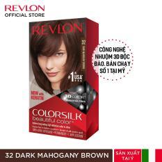 [Tặng 1 Khẩu Trang] Nhuộm tóc thời trang Revlon Colorsilk 3D