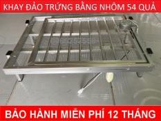 Khay đảo trứng bằng nhôm tự động chuyên dùng cho máy ấp trứng (gà 54 quả),vịt, cút, trĩ, bồ câu