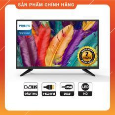 Tivi Led Philips 32 inch HD – Model 32PHT4003S/74 (Đen) Tích hợp DVB-T2