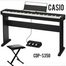 Đàn Piano điện Casio CDP-S350 + CS46 + SP34 – mang lại cảm hứng cho những nhạc sĩ ở mọi trình độ và độ tuổi, bao gồm nhiều loại Tones và Rhythms