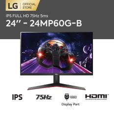 [TRẢ GÓP 0%] Màn hình máy tính LG LG IPS FHD (1920 x 1080) 75Hz 5ms l 24 / 27 / 32 inches l 24MP60G-B – 27MP60G-B – 32MP60G-B l HÀNG CHÍNH HÃNG