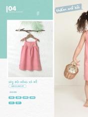 Váy đũi hồng Chaang