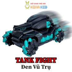 Xe Tăng Điều Khiển Từ Xa Bằng Cảm Biến Đeo Tay Và Remote 2.4Ghz Tank Fight, Xoay 360 Độ, Bắn Bom Nước